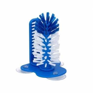 Spoelborstel voor glazen